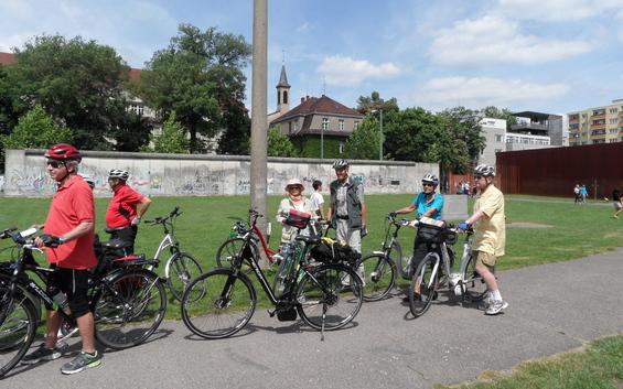 Auf dem Berliner Mauerradweg - Radrundtour in drei Tagesetappen - Basis Paket 1