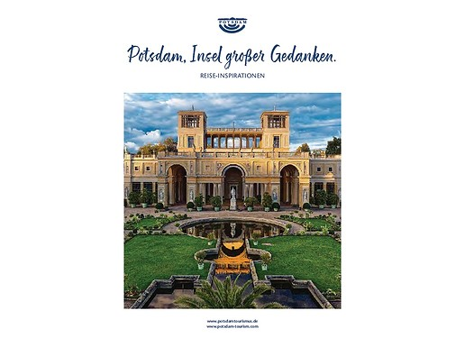 "Reisemagazin Potsdam - ""Insel großer Gedanken"""