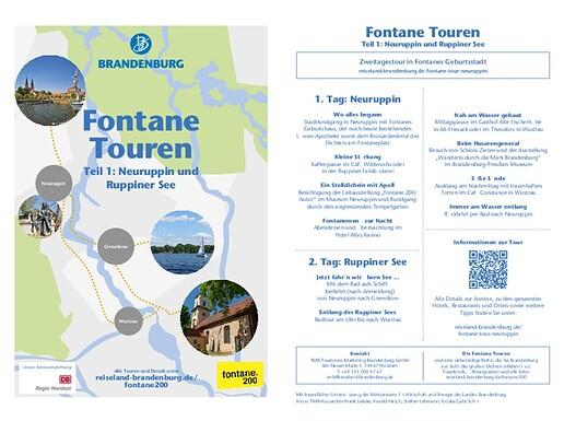 Fontane Touren 1 bis 7