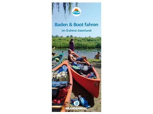 Baden und Bootfahren im Dahme-Seenland