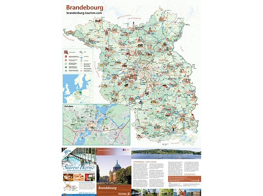Carte Destination Brandenbourg