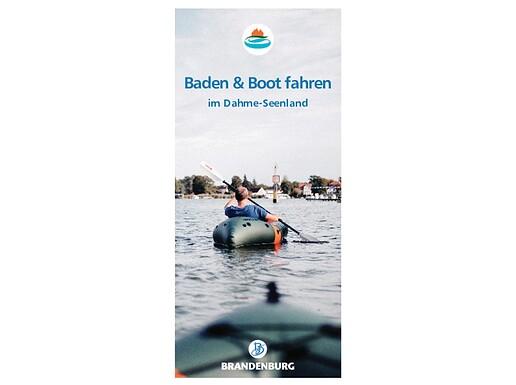 Baden und Boot fahren im Dahme-Seenland 2020