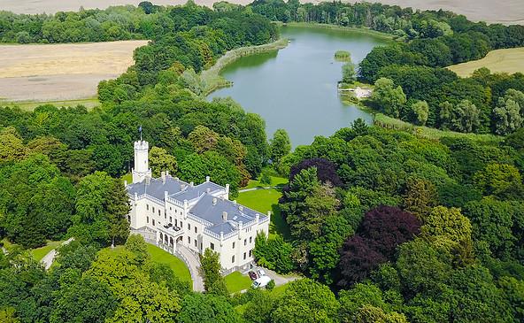 Hotel Schloss Reichenow von oben