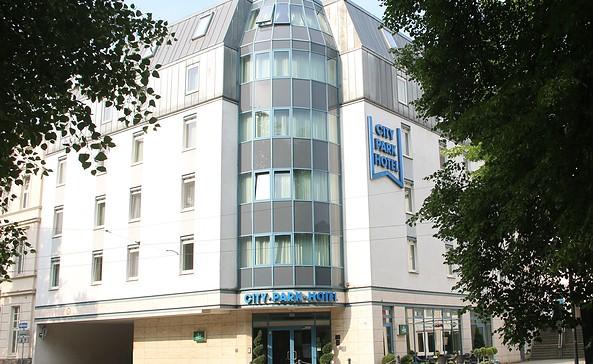 City Park Hotel Frankfurt (Oder) - Außenansicht