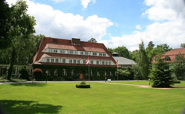 Ansicht Haupthaus Hotel Döllnsee-Schorfheide