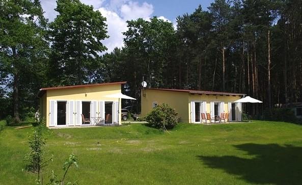 Außenansicht beider Ferienhäuser