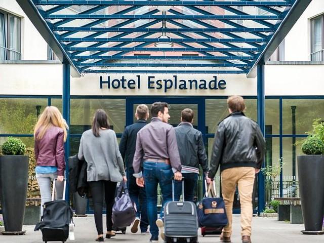 Eingangsbereich Hotel Esplanade