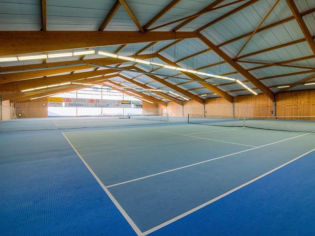Freizeitanlage - Tennishalle