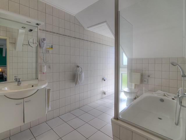 Doppelzimmer Standard - Badezimmer