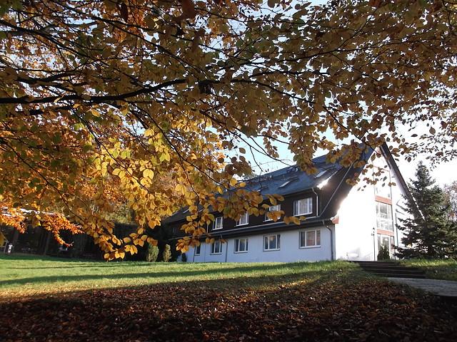 Seehotel Ichlim im Herbst