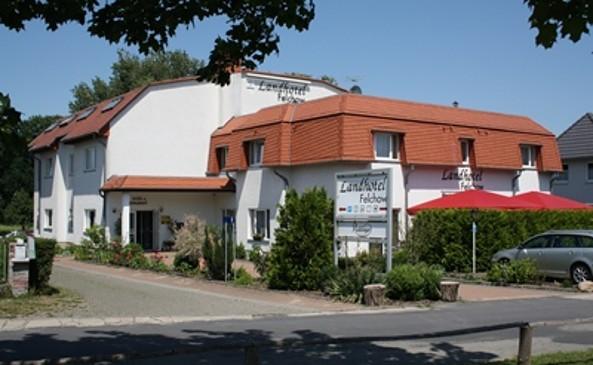 Landhotel Felchow Außenansicht