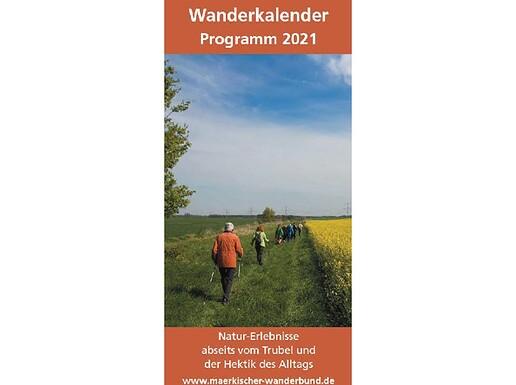 Wanderkalender Märkischer Wanderbund 2021